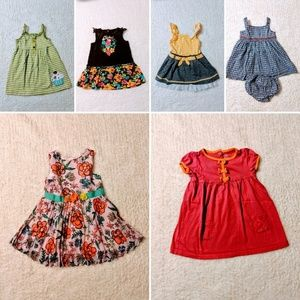 Girl's 24 months Summer Dress Bundle